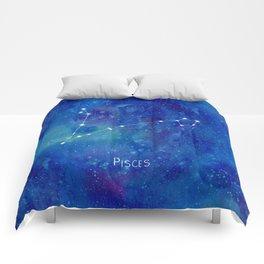 Constellation Pisces Comforters