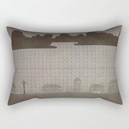 Rainy Scene Rectangular Pillow