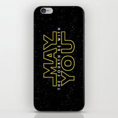 May the fourth be with you iPhone & iPod Skin