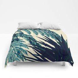 Green of the Tropics Comforters