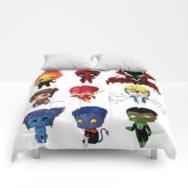 Chibi Heroes Set 2 Comforters