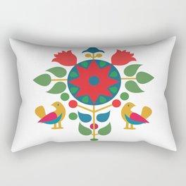 Star with birds Rectangular Pillow