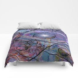 Maille bleue Comforters