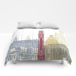 Dundee skyline poster Comforters