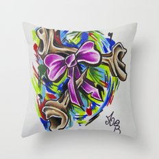 Coloured By Confusion Throw Pillow