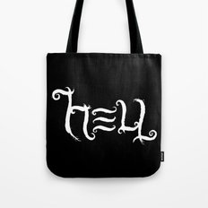Raise HELL (Black) Tote Bag