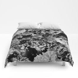 Black Roses Comforters