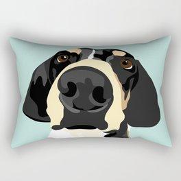 Lily's Nose Rectangular Pillow