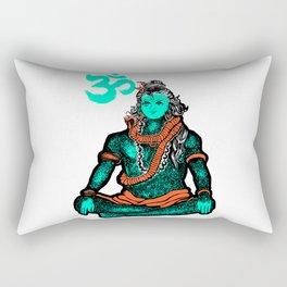 """Lord Shiva""colors Rectangular Pillow"