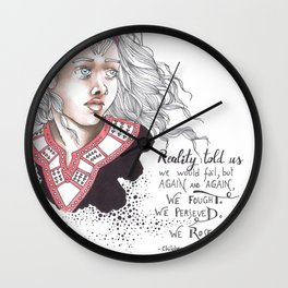 Children of blood and bone Wall Clock