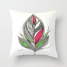 Harvest Feather Throw Pillow