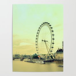 Impressions of London Poster
