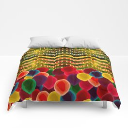 Chevron And Dots Comforters