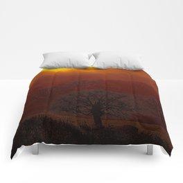 Fog 34 Comforters