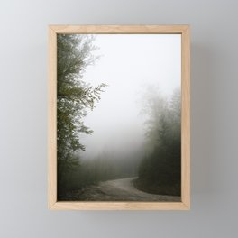Into the unknown Framed Mini Art Print