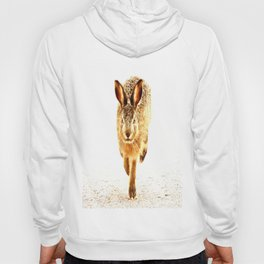 Wait For Me Guys! Hare running #decor #society6 Hoody