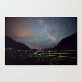 Wyoming Stars Canvas Print