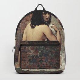 Francesco Hayez - Susanna at her Bath Backpack