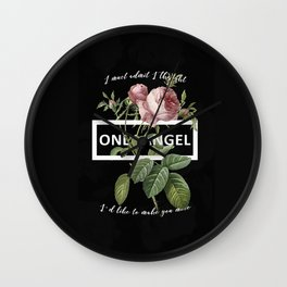 Harry Styles Only Angel graphic artwork Wall Clock