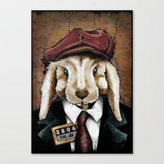 The Usual Suspects // Evil Joe Canvas Print