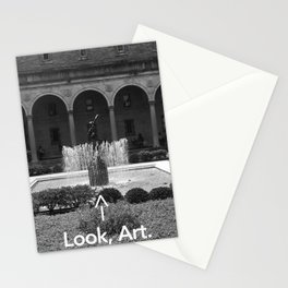 Look, Art. Stationery Cards