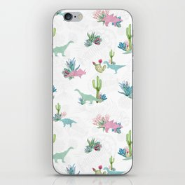 Triassic Garden iPhone Skin