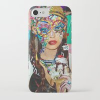 chelsea iPhone & iPod Cases featuring Chelsea by Katy Hirschfeld