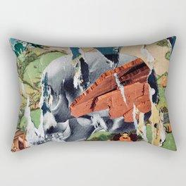 Osman Buddha Smile Rectangular Pillow