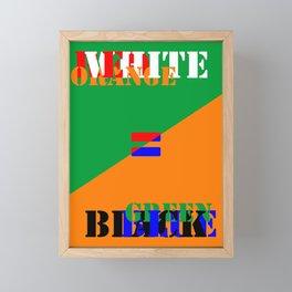 FAKE NEWS 03 Framed Mini Art Print