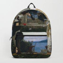 John William Waterhouse - Saint Cecilia Backpack