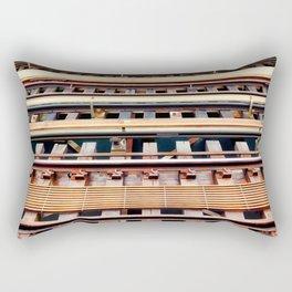Railway tracks Rectangular Pillow