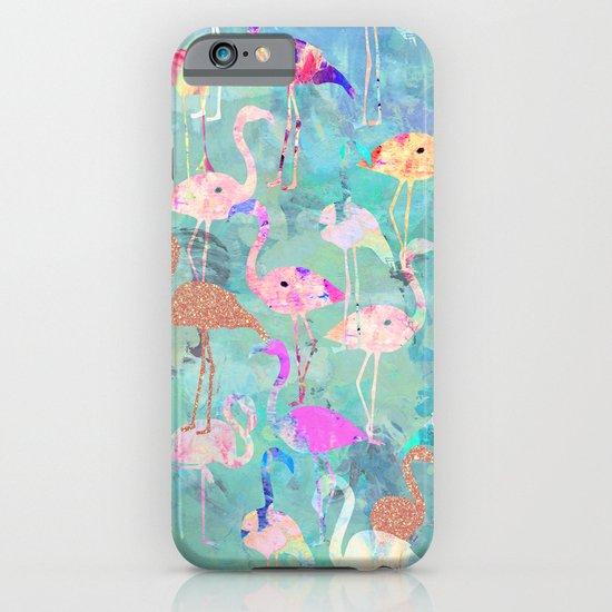 Flamingo Party  iPhone & iPod Case