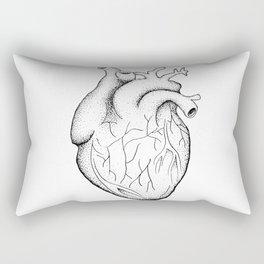 dotwork heart Rectangular Pillow