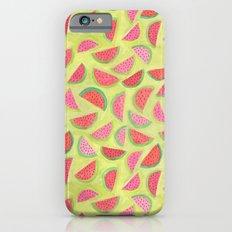 Watercolor Watermelon Slim Case iPhone 6s