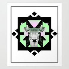 ::Space Deer:: Art Print