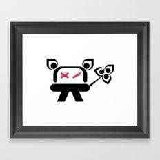 Kromo Tshirt Framed Art Print