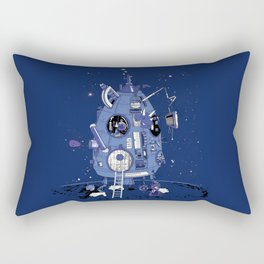Ludwig's Time Machine Rectangular Pillow