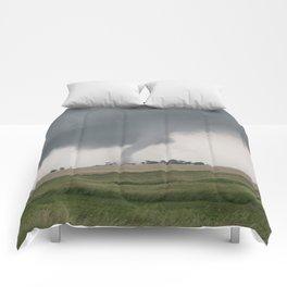 Field Tornado  Comforters