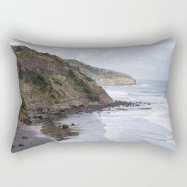 Cliffs of New Zealand Rectangular Pillow