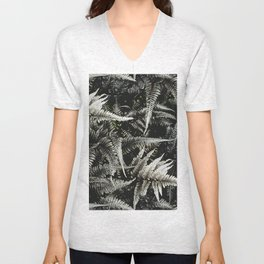 Ferns - A Pattern Unisex V-Neck