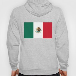The Mexican national flag - Authentic high quality file Hoody