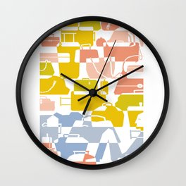 The traveller Wall Clock
