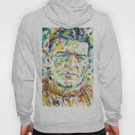 ERNEST SHAKLETON - watercolor portrait Hoody
