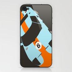 Orange Notch - Ford GT40 Race Car iPhone & iPod Skin