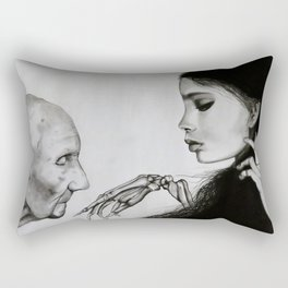 The Final Kiss Rectangular Pillow