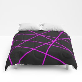 Abstract Minimalist Geometrical Pattern Comforters