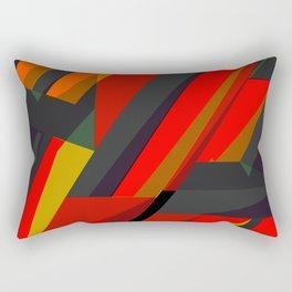 Spike Abstract art Rectangular Pillow