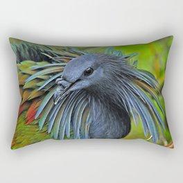 Nicobar Pigeon Rectangular Pillow