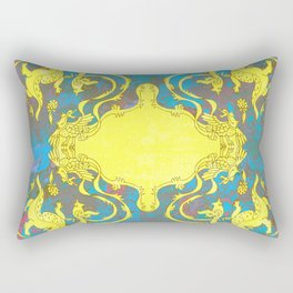 dragon and the phonixe Rectangular Pillow