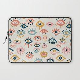 Mystic Eyes – Primary Palette Laptop Sleeve